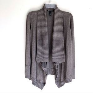 Inc Shawl Collar Open Front Cardigan